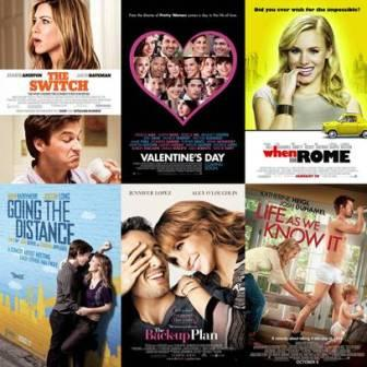 2012 Hollywood romantic list movies