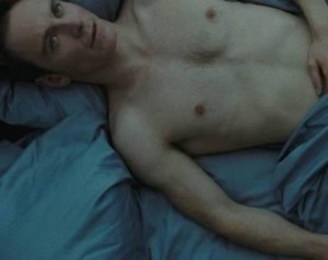 Michael Fassbender in the opening scene of Steve McQueen's Shame